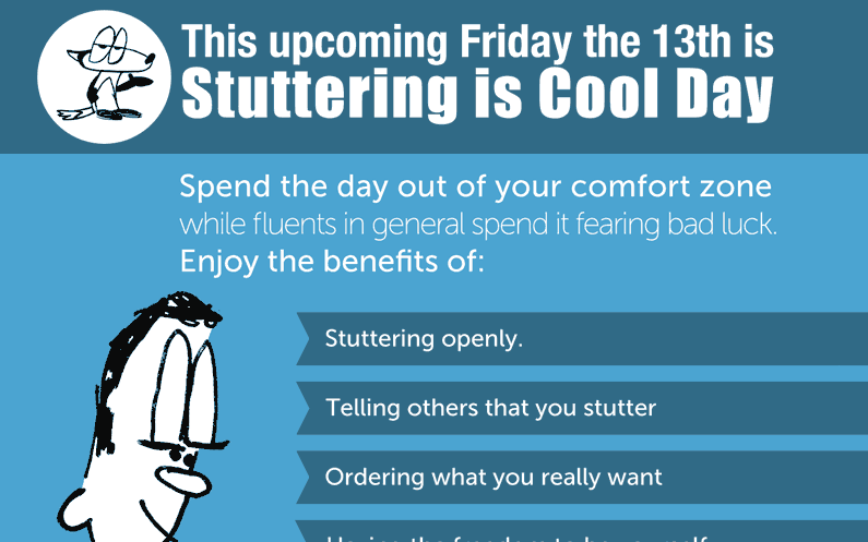 Stuttering is Cool Day