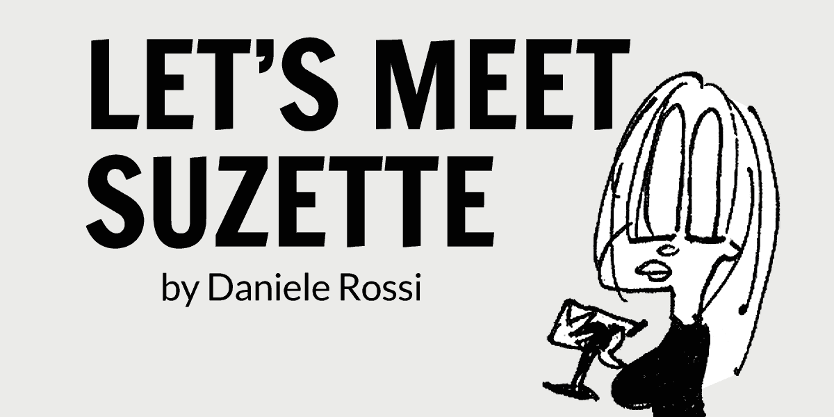 Let's meet Suzette in this comic